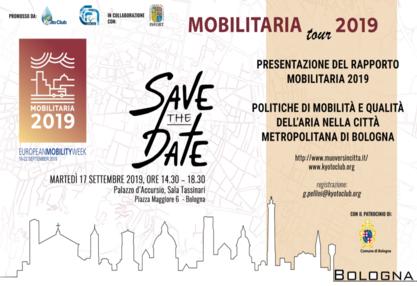 Mobilitaria Tour 2019 Bologna