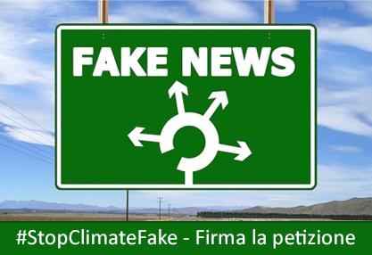 Petizione Stop Climate Fake