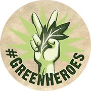 Logo #Greenheroes